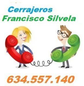 Telefono de la empresa cerrajeros Francisco Silvela